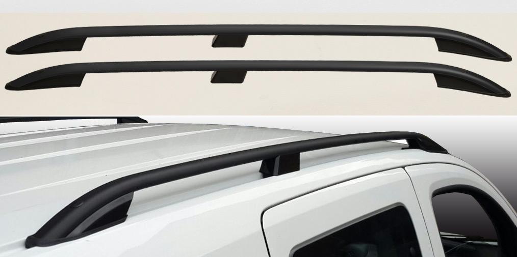 Dachreling für Mitsubishi ASX ab Bj ABE/&TÜV 2010Alu-Schwarz Eloxiertinkl